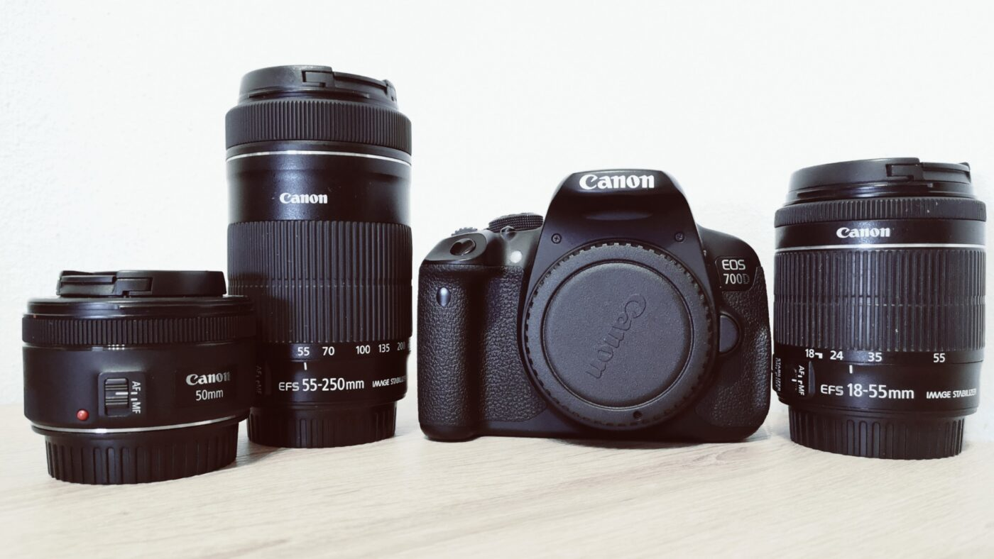 Mein Foto-Equipment